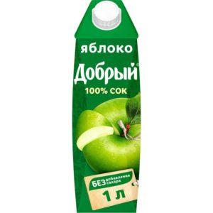 Добрый яблочный